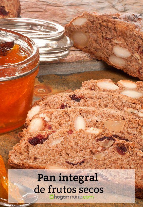 Receta de Pan integral de frutos secos