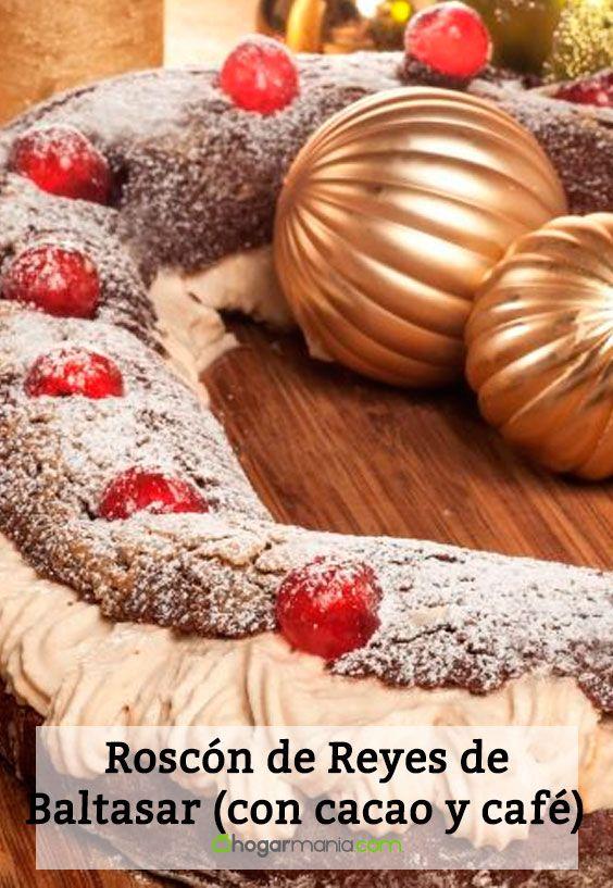 Receta de Rosco Baltasar (roscón de Reyes de cacao y café)