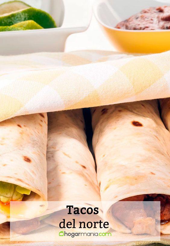 Receta de Tacos del norte