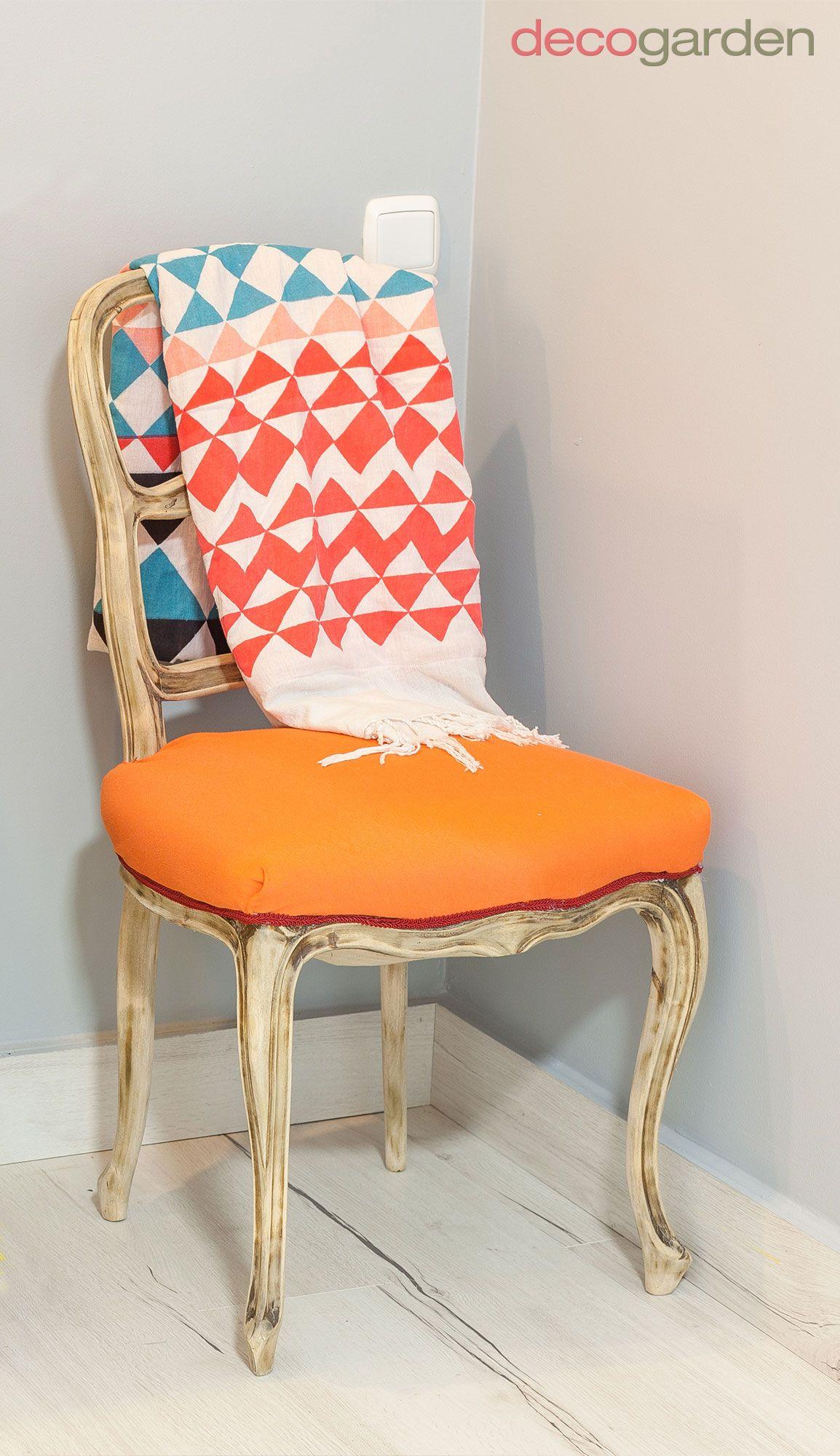 tapizado silla tela colorida