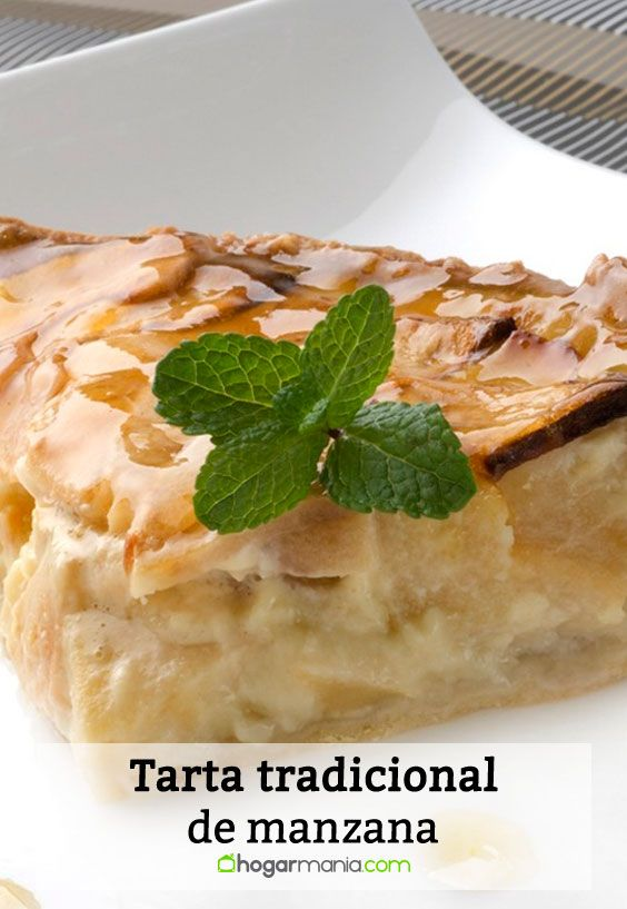 Tarta tradicional de manzana