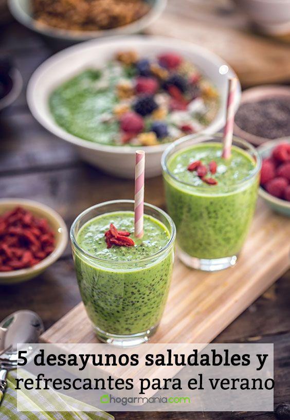 5 desayunos saludables y refrescantes para el verano