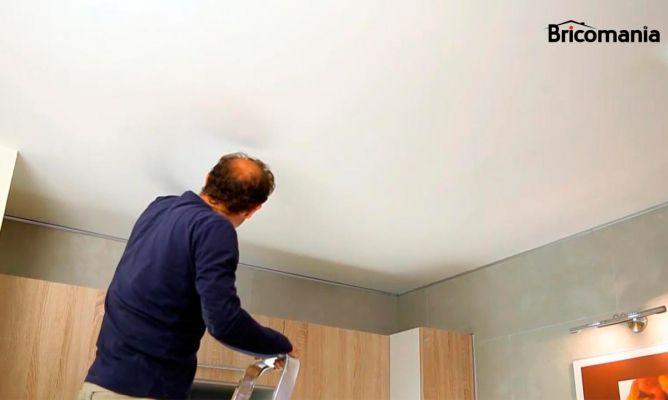 C mo pintar el techo de la cocina bricoman a - Como pintar el techo ...