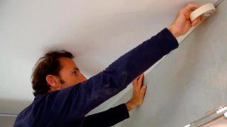 Cómo pintar el techo de la cocina - Paso 2