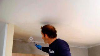 Pintar techo de la cocina