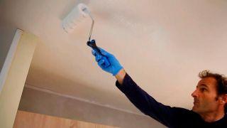 Cómo pintar el techo de la cocina - Paso 6