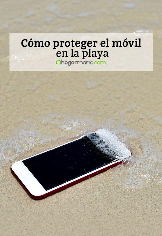 Cómo proteger el móvil en la playa.