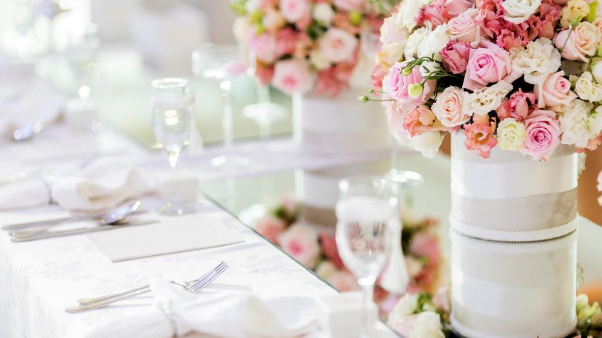 10 Ideas Para Decorar Una Boda Con Flores Hogarmania - Decoracin-con-flores