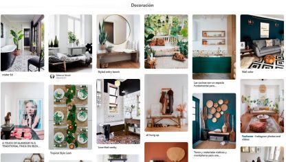 Ideas de decoración en Pinterest