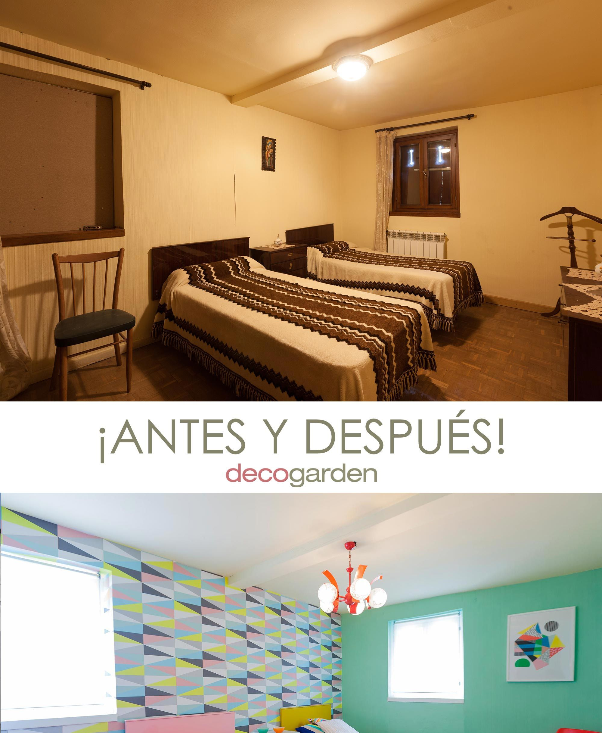 dormitorio juvenil estilo retro