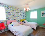 dormitorio juvenil estilo retro - después