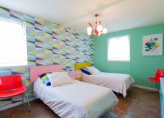 Decorar dormitorio estilo retro