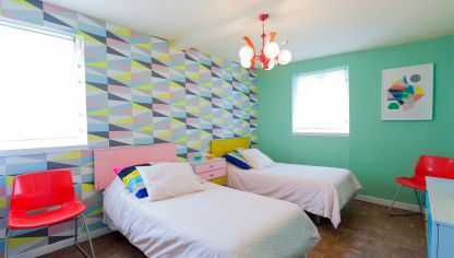 Decorar dormitorio juvenil estilo retro