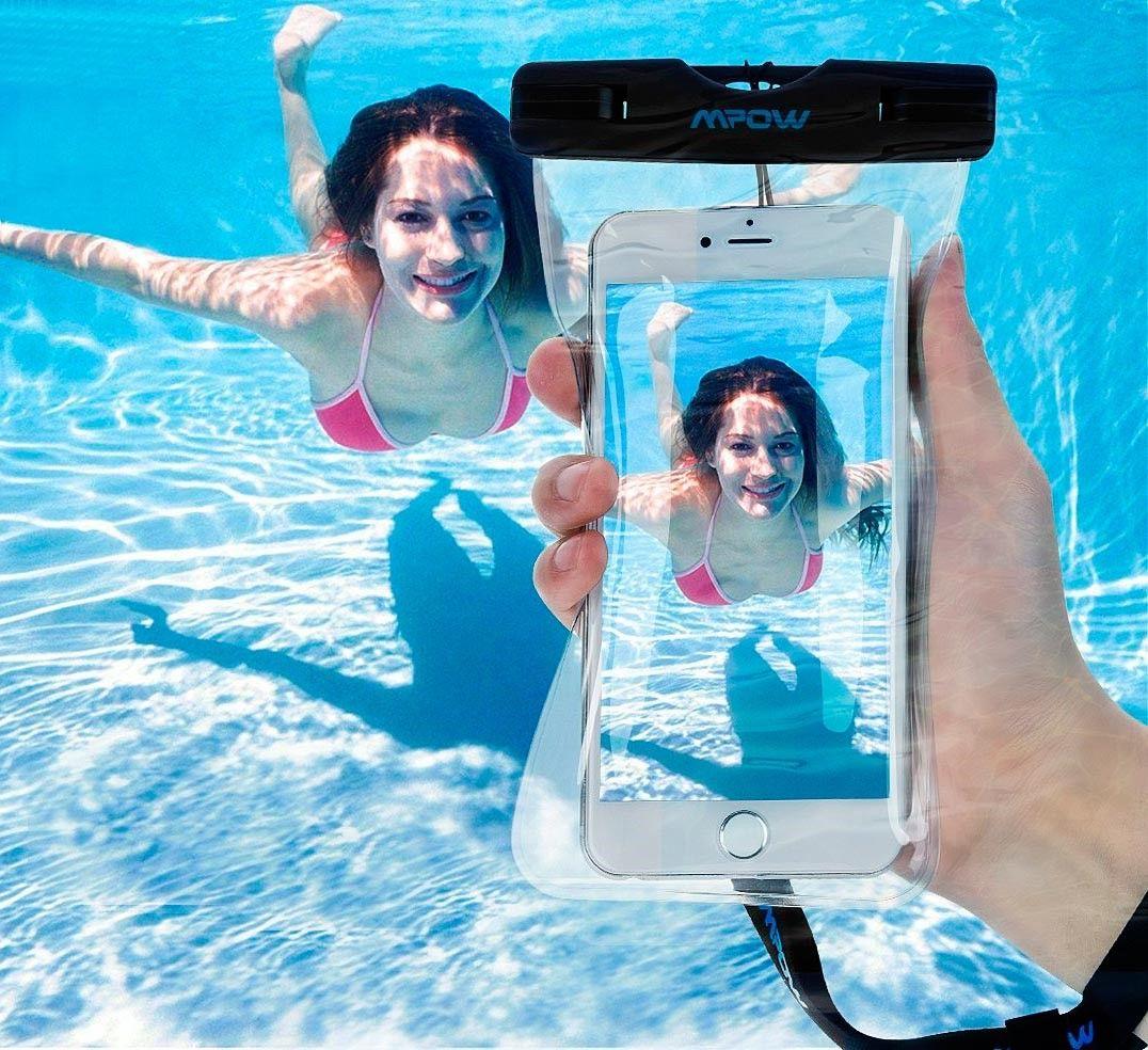 Carcasa para smartphome sumergible a 10 metros de profundidad.