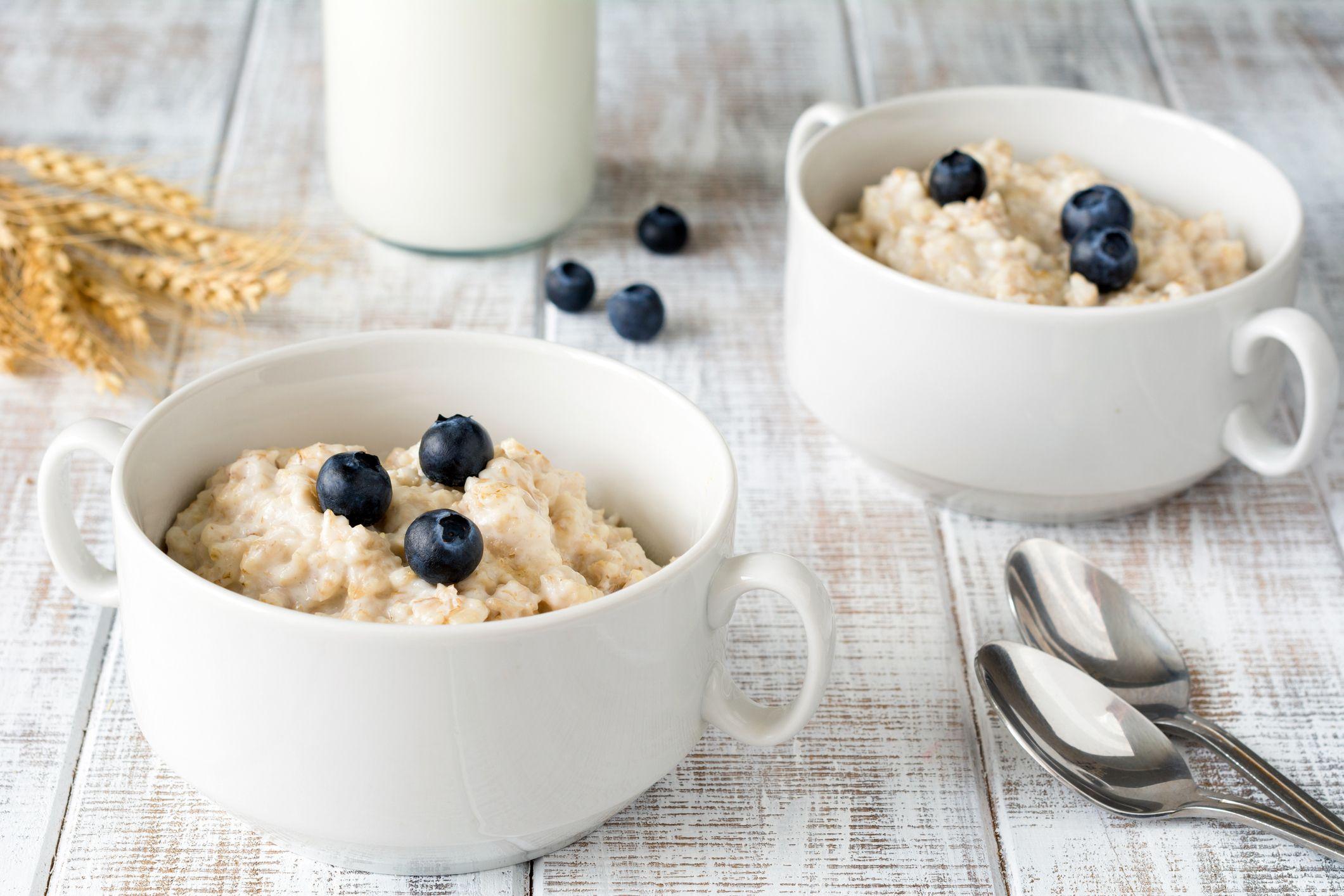 Porridge o gachas de avena.