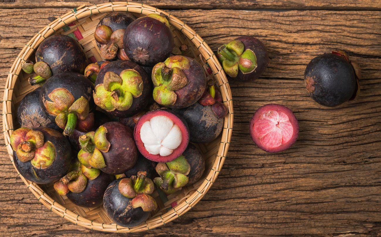 El mangostán, la fruta de moda