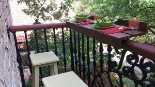 Hacer un mostrador para el balcón