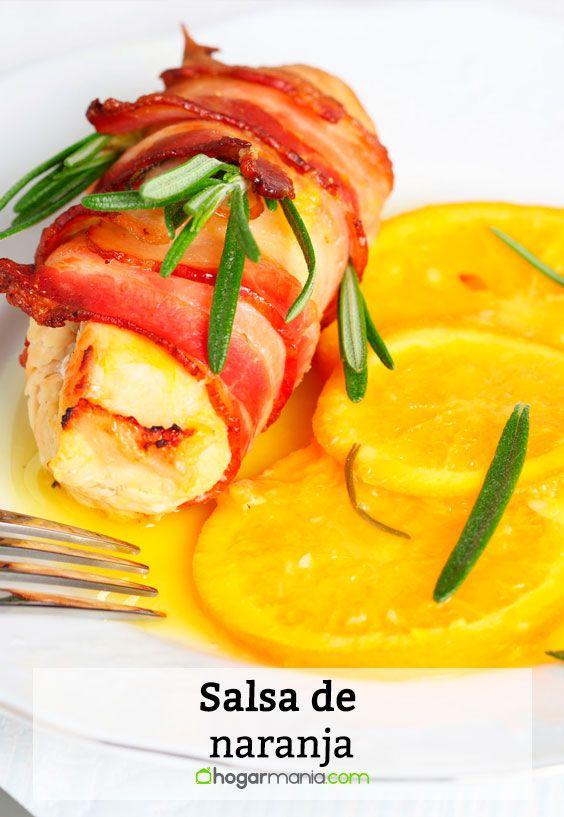 Receta de Salsa de Naranja.