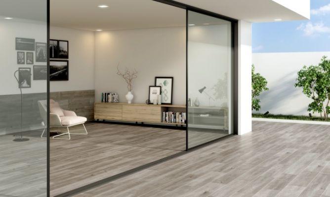 Un suelo para cada espacio laminados porcel nicos y - Suelo madera exterior leroy merlin ...