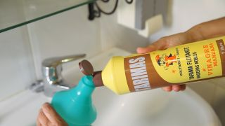 Cómo limpiar la mampara de la ducha - Paso 1