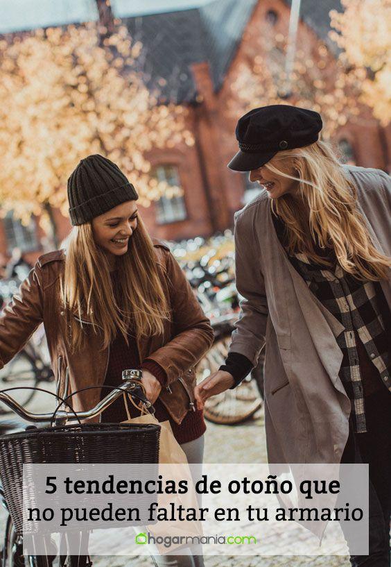5 tendencias de otoño que no pueden faltar en tu armario