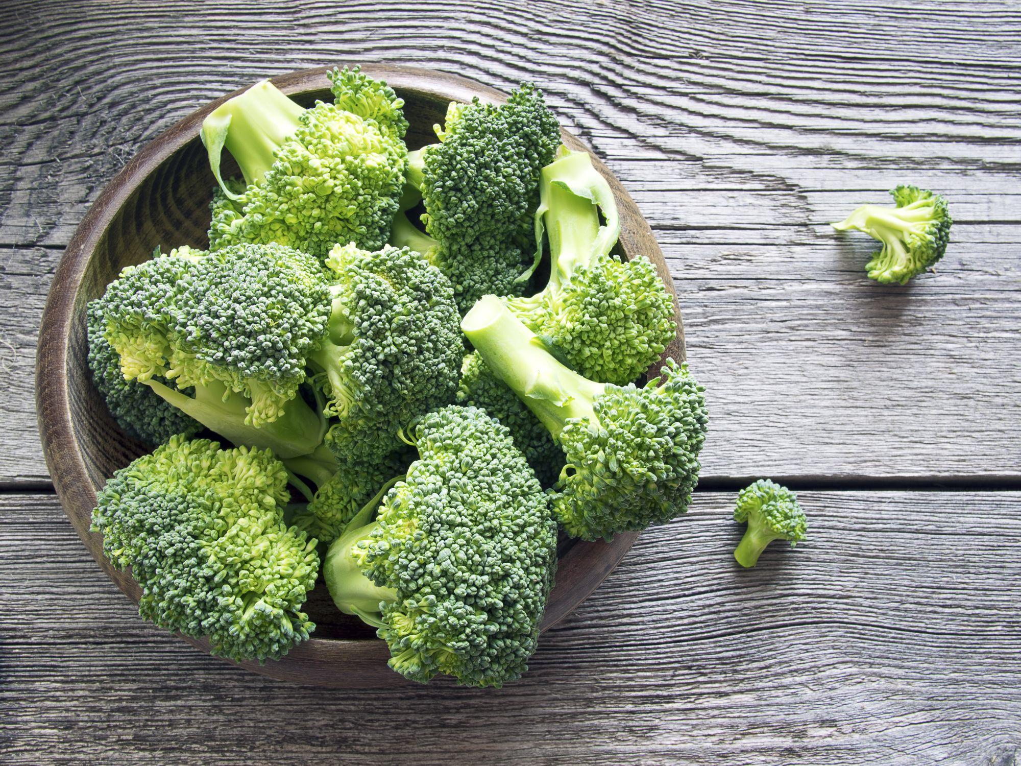 El brócoli es el alimento antioxidante estrella.