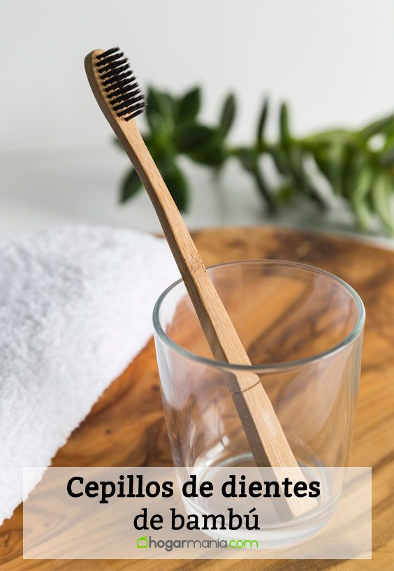 Cepillos De Dientes De Bambú Para Reducir El Uso De Plástico Hogarmania