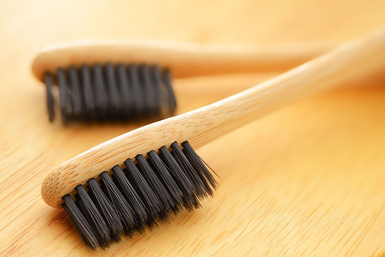 Cepillos de dientes de bambú sin BPA
