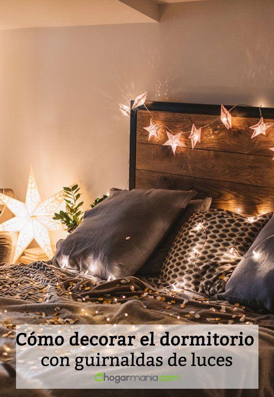 C mo decorar el dormitorio con guirnaldas de luces for Programa para disenar cuartos