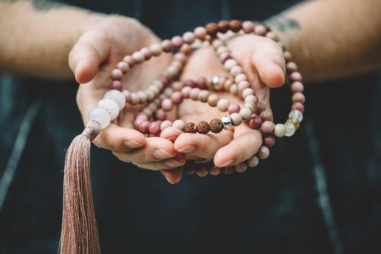 Japa mala para la meditación