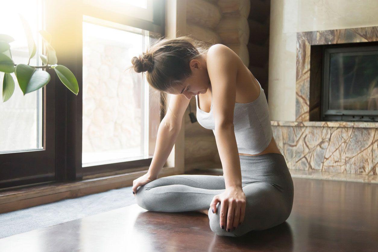 La respiración abdominal es esencial para meditar.