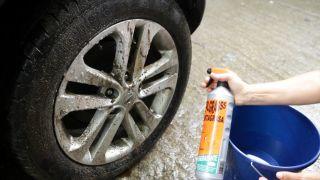 Cómo limpiar las llantas del coche - Paso 1