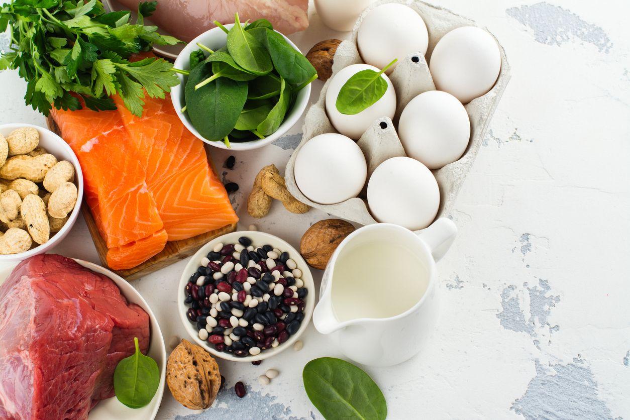 Alimentos para un pelo fuerte y sano.