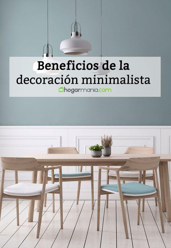 Beneficios de la decoración minimalista