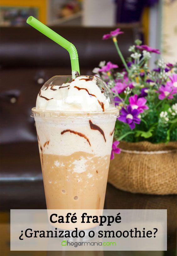 Café frappé: ¿Qué es? ¿Cómo se toma? ¿Smoothie o granizado?