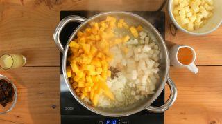 Chutney de melocotón con magret de pato - Paso 2