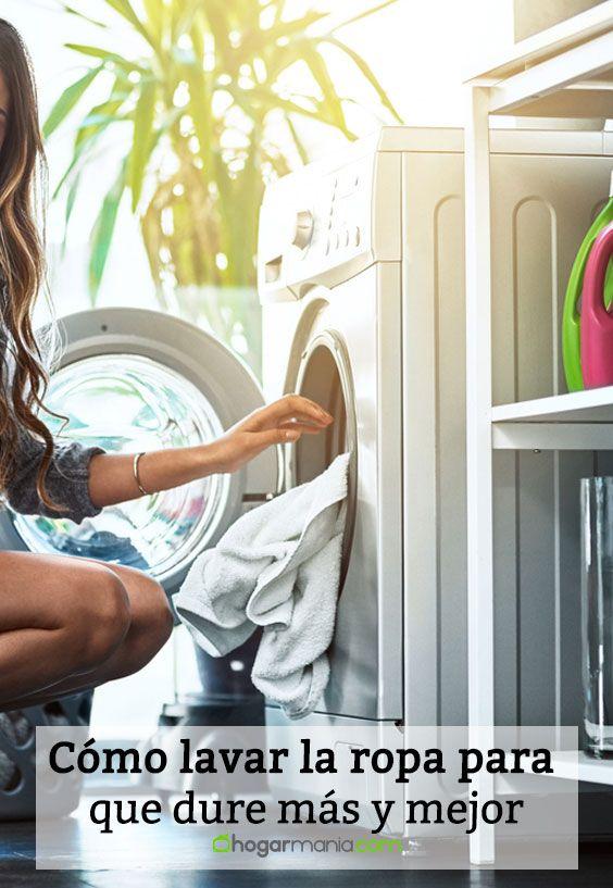 Cómo lavar la ropa para que dure más y mejor