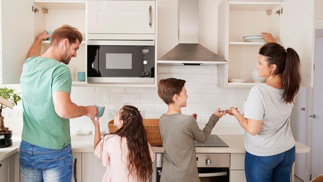 Cómo organizar las tareas de casa.