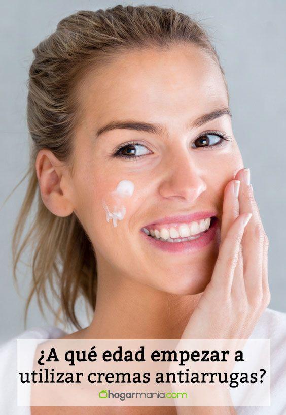 ¿A qué edad empezar a utilizar cremas antiarrugas?