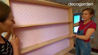 Transformar camarote en dormitorio y estudio de costura - Paso 4