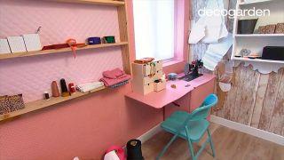 Transformar camarote en dormitorio y estudio de costura - Paso 5
