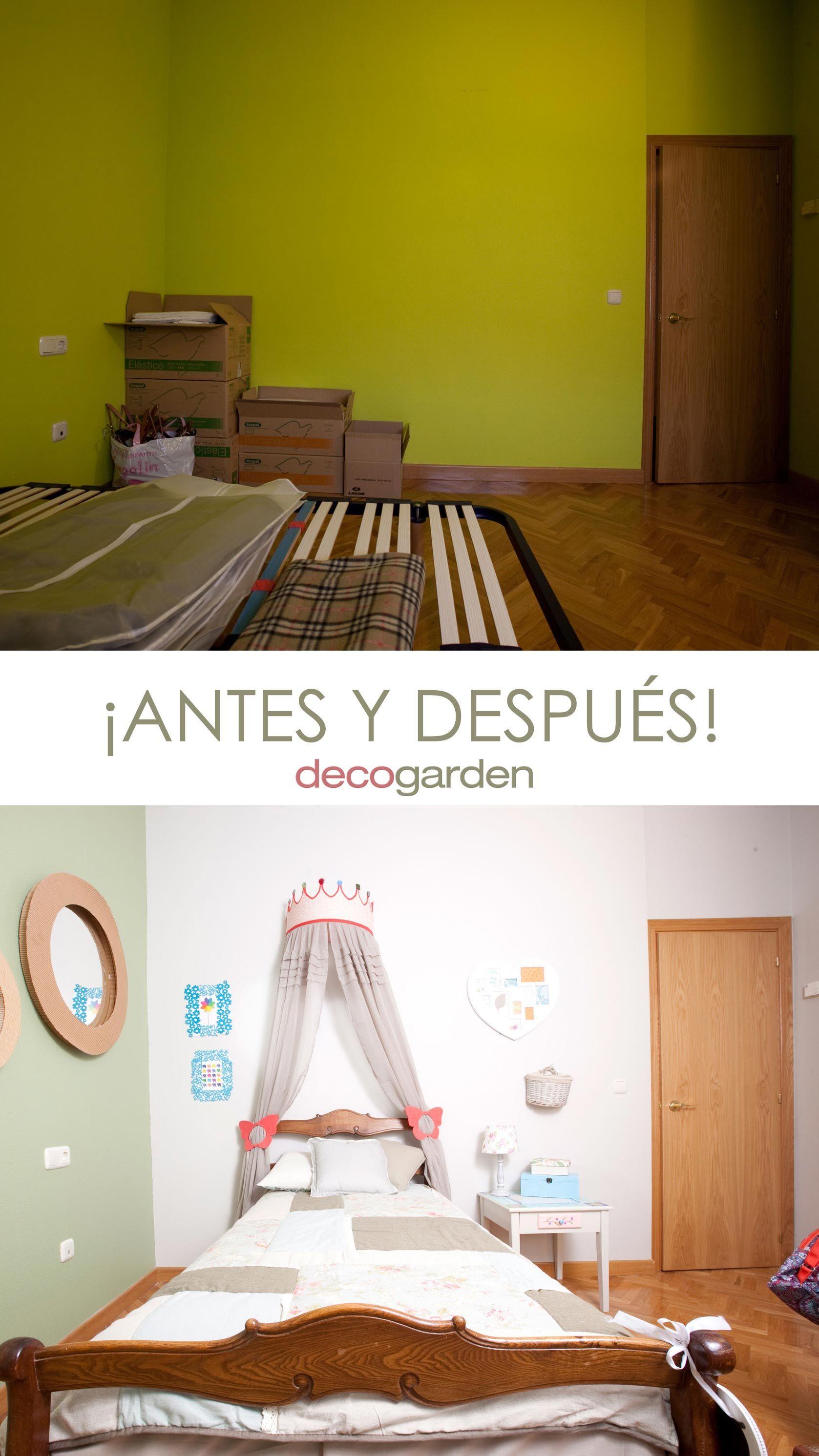 habitación infantil original - antes y después