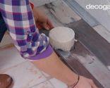 colocar lamas PVC en suelo de baño (zonas difíciles) - paso 5