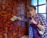 preparar pared de azulejos antes de pintar - limpieza