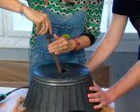 crear una lámpara con un  barreño - paso 3