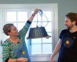 crear lámpara con barreño - paso 6