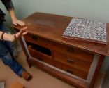 Renovar mueble baño con encimera de baldosas - paso 1