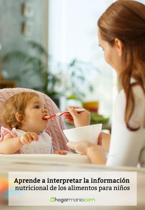 Aprende a interpretar la información nutricional de los alimentos para niños