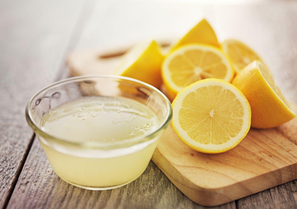 Jugo de limón.