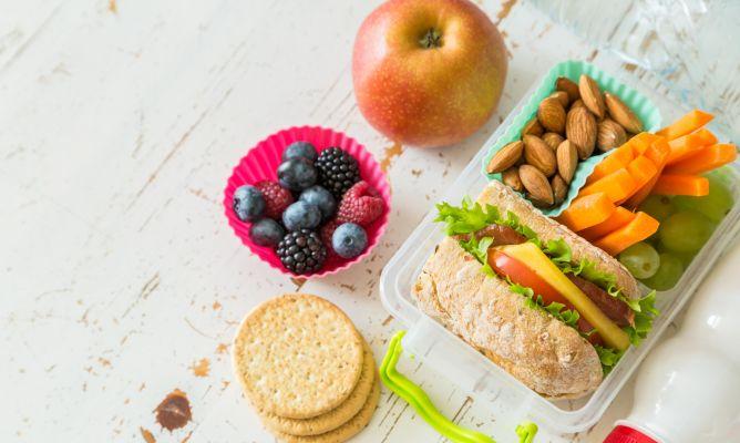 opciones de merienda saludable para niños